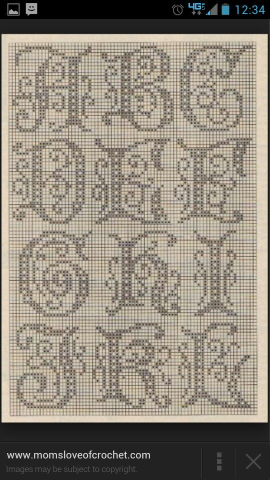 11 best graph images on pinterest alpha bet alphabet and graph paper free filet crochet alphabet pattern for cross stitching thecheapjerseys Images