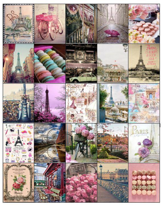 Parisian Themed Stickers for your Erin Condren Life Planner/Inkwell/Plum Planner/Kikki k/Filofax/Journaling- DIGITAL COPY
