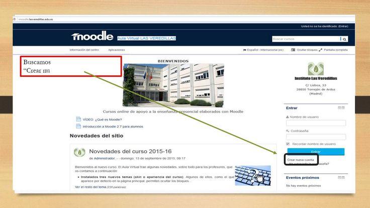 Crea tu diver blog PRIMEROS pasos registro en el aula virtual