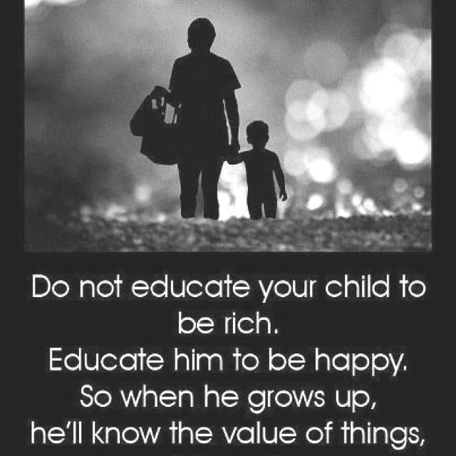 Teach them well.