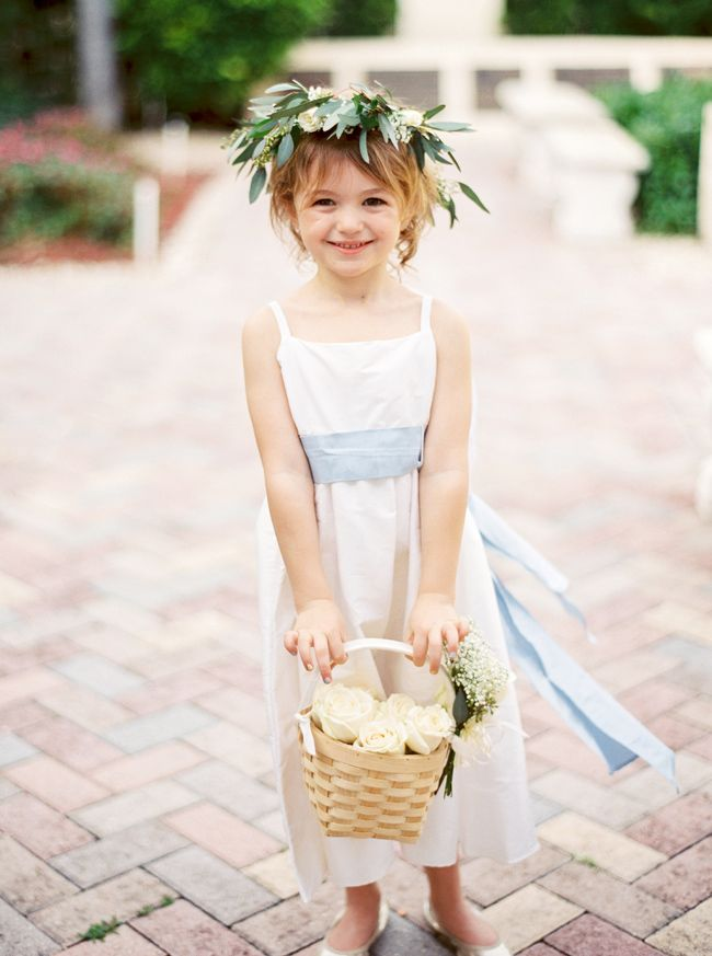 Sweet flower crowned flower girl I JoPhoto