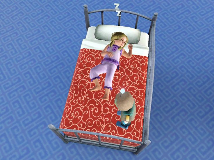 Daybed For Your Toddlers Sims3 Sims 3 Cc Custom