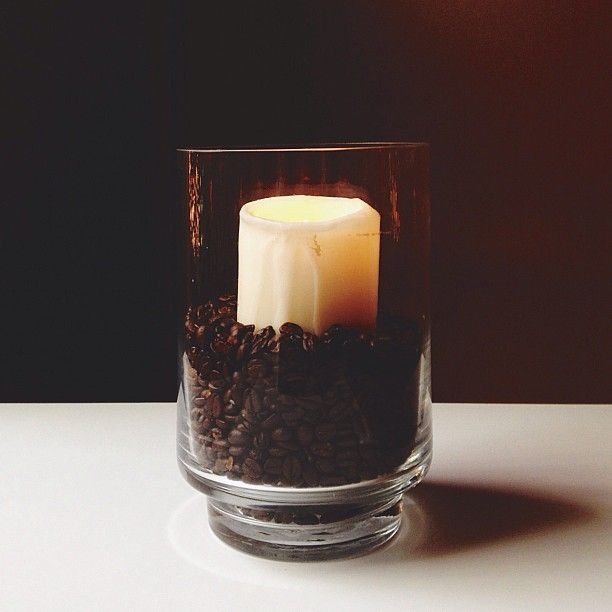 #DIY: #Coffee Bean #Candle Hurricane Project