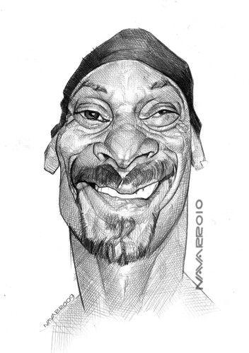 Snoop Dogg Caricatures Snoop Dogg Caricature Celebrity