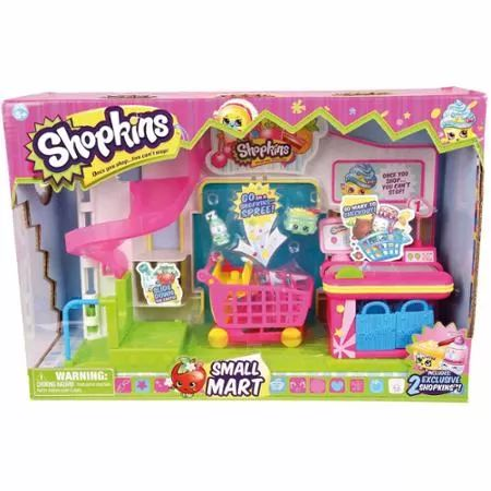 Shopkins Small Mart Playset...got this for our girl for her birthday today
