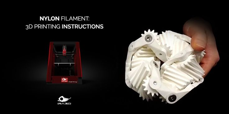Nylon e stampa 3D: istruzioni per l'uso