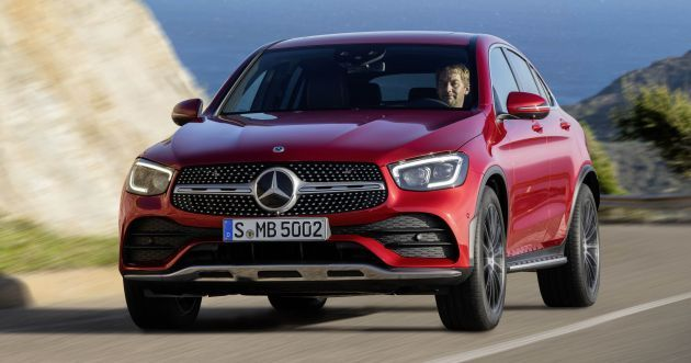 C253 Mercedes Benz Glc Coupe Facelift Revealed Updated Styling