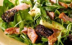 Bacon and Black Pudding Salad