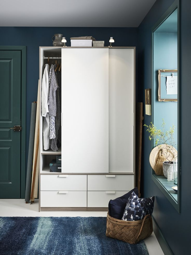 54 besten kleiderschrank bilder auf pinterest ikea. Black Bedroom Furniture Sets. Home Design Ideas