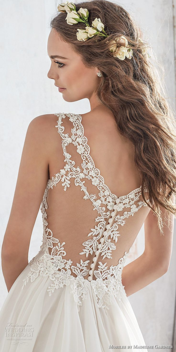 morilee spring 2017 bridal sleeveless strap sweetheart neckline heavily embellished bodice layered skirt romantic modified a line wedding dress illusion lace back chapel train (5512) zbv (scheduled via http://www.tailwindapp.com?utm_source=pinterest&utm_medium=twpin&utm_content=post151673665&utm_campaign=scheduler_attribution)