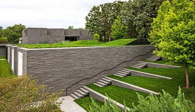 Lakewood cemetery garden mausoleum landscape by halvorson for Earth designs landscaping