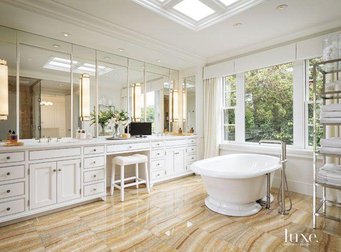 Honey Onyx Tile Flooring