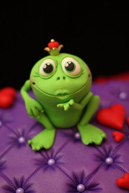Cute Frog Prince - mwaah!