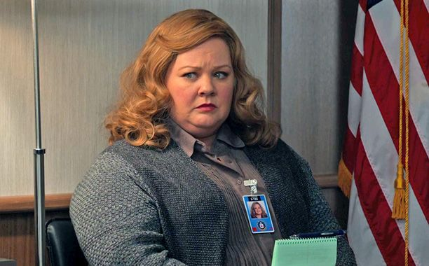 Melissa McCarthy will let Allison Janney up rather than down in the trailer for Spy, the third joint effort between McCarthy and director Paul Feig following the successes of Bridesmaids and The Heat.