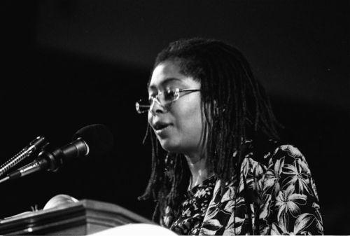 Alice Walker (b. 1944): Su novela El color púrpura, que aborda la opresión económica y sexual de las mujeres pobres y negros, era poco menos que revolucionaria. Pero la valentía de Walker no se limita a su escritura; un activista de los derechos civiles en los años 60 que resisitió los acosos del Ku Klux Klan después de su matrimonio interracial en 1965, fue detenida junto a su compañera Maxine Hong Kingston, en una protesta de 2003 contra la guerra de Irak