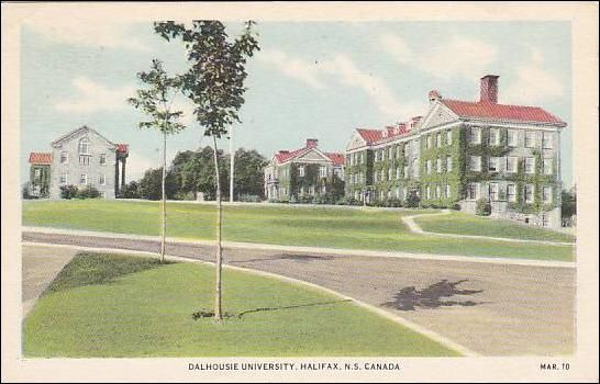 Dalhousie University , Halifax , Nova Scotia , Canada , PU-1949
