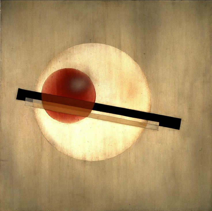AL 3, 1926 László Moholy-Nagy Oil, industrial paints, and pencil on aluminum 40 x 40 cm | The Charnel-House