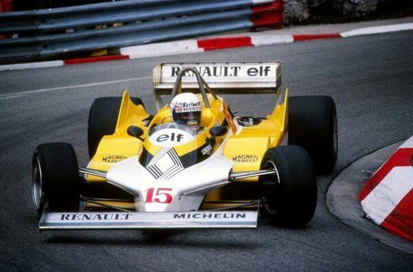 #15 Alain Prost (Fra) - Renault RE30 (Renault V6T) engine (9) Equipe Renault Elf