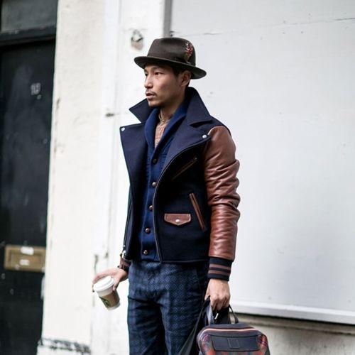 Looks de streetstyle de hombres con sombreros de ala ancha, gorros de lana y gorras inglesa. Hombres con estilo con sombrero, looks formales e informales