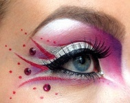 More makeup for the sirens.  the mixture of pink and purple give off a perfect girly look that the sirens want.