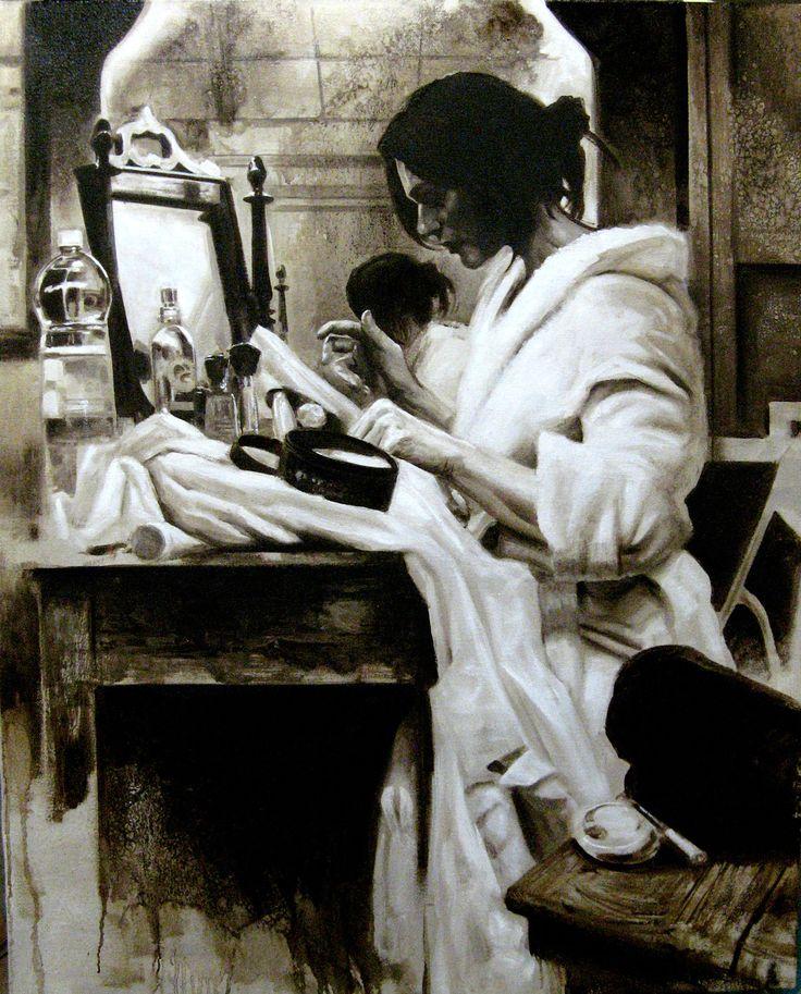 Matteo Nannini, memories, olio su tela, 100X80, 2015
