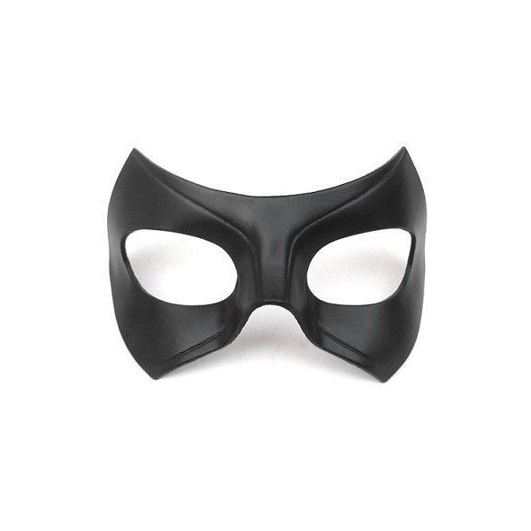 Black Canary Mask Laurel Lance Cosplay Arrow Series Tv Show Leather... ❤ liked on Polyvore featuring accessories