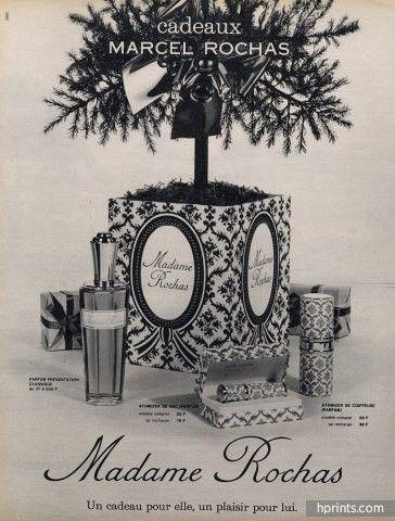 Marcel Rochas (Perfumes) 1963 Madame Rochas