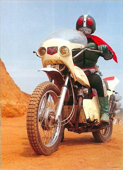 Kamen Rider 2   Cyclone 仮面ライダー2号   サイクロン号