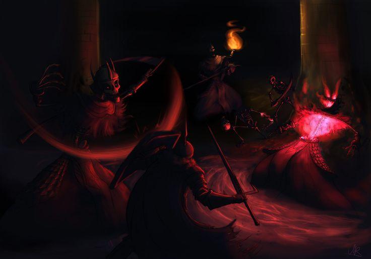Dark Souls 2 - Skeleton Lords