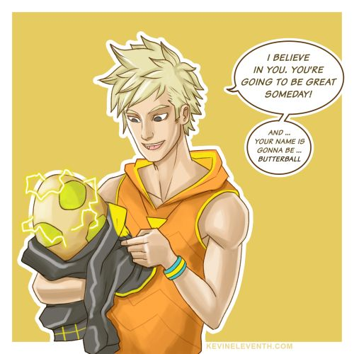 I know he may seem like a big doof to everyone else, but this is how I see Spark of team Instinct.