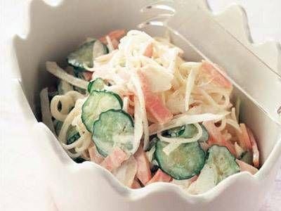栗原 はるみ さんのそうめんを使った「そうめんサラダ」。パスタでつくるサラダより柔らかな食感で食べやすく、パンにもご飯にもあいますよ。朝ごはんにもおすすめです。 NHK「きょうの料理」で放送された料理レシピや献立が満載。