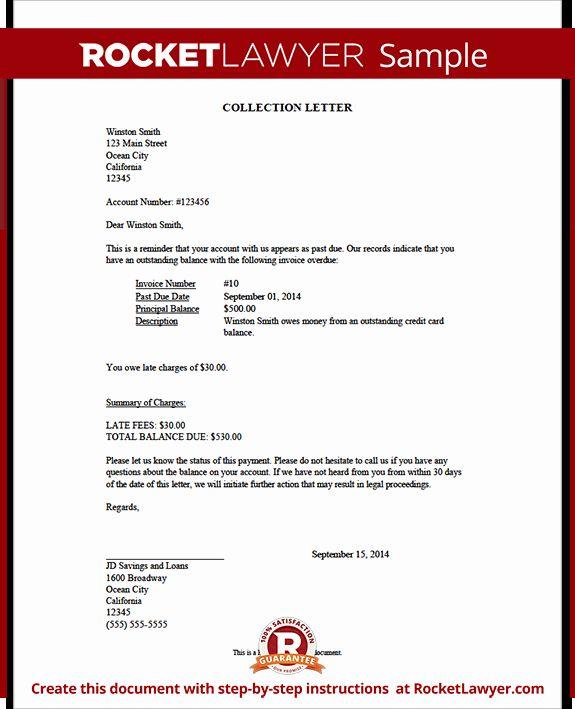 Demand Letter Sample California