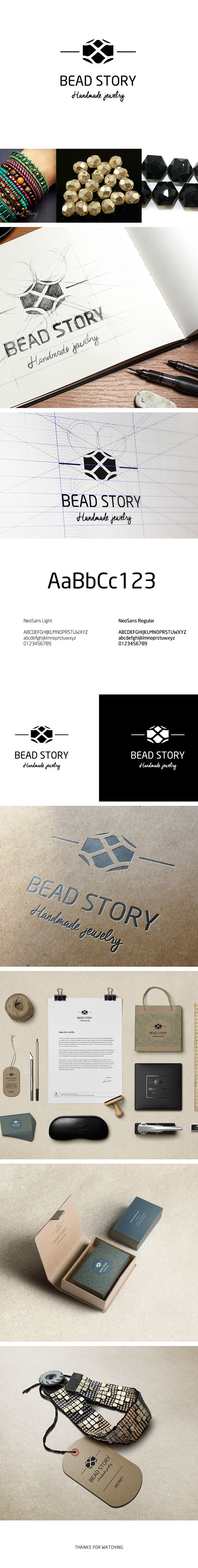 Bead Story Branding © on Behance