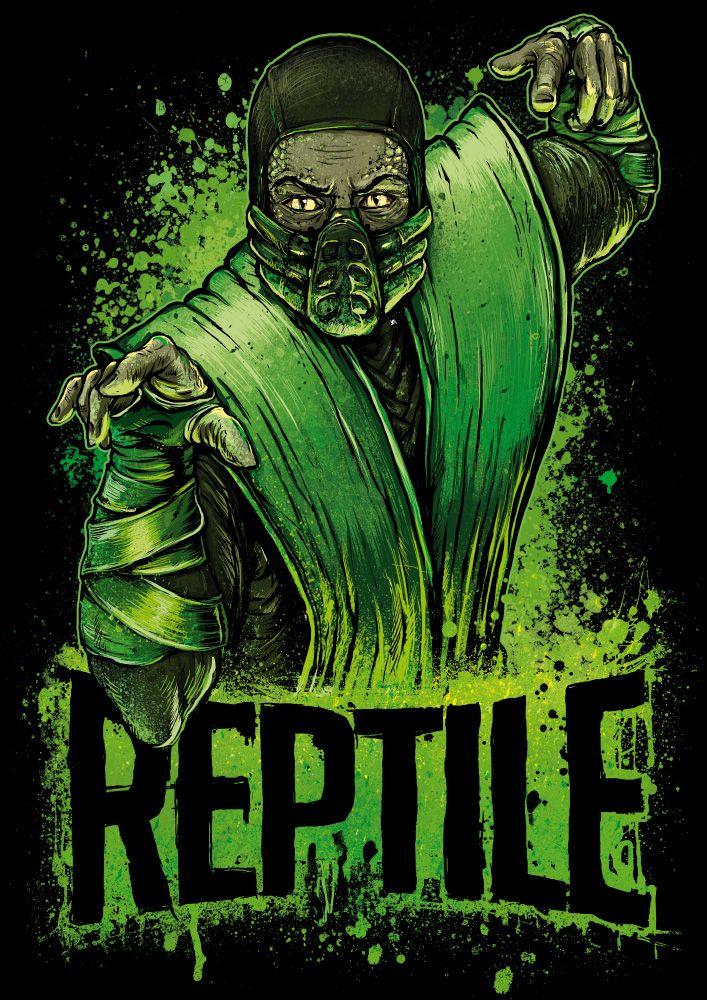Reptile - Mortal Kombat - Gleb Sinyutkin                                                                                                                                                     More