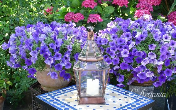 :: L'Argania :: - lanterne marocchine da terra