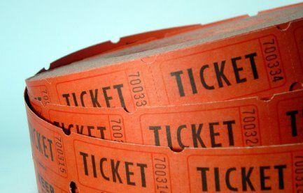 Raffle Ticket Promotion!