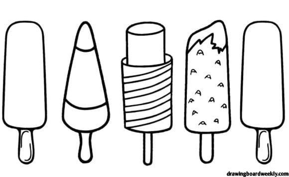 Popsicle Coloring Page Ice Cream Coloring Pages Coloring Sheets Coloring Pages