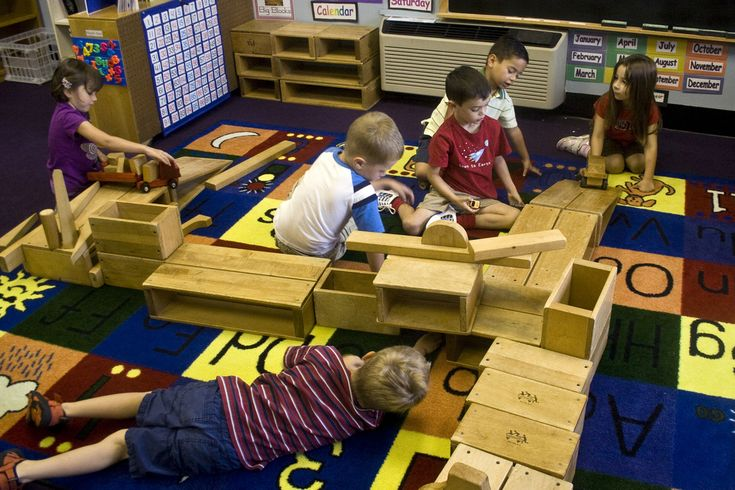 Blocks: Children get a hands-on experience with designing architectural masterpieces and learn and solve real-world engineering problems using wooden blocks in various shapes and sizes. They learn about balance, tension, force, compression and it can be a good way in getting kids interested in science.
