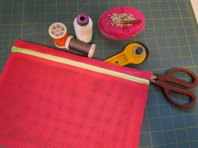Zippered Mesh Bag Tutorial Sewing Pinterest Mesh