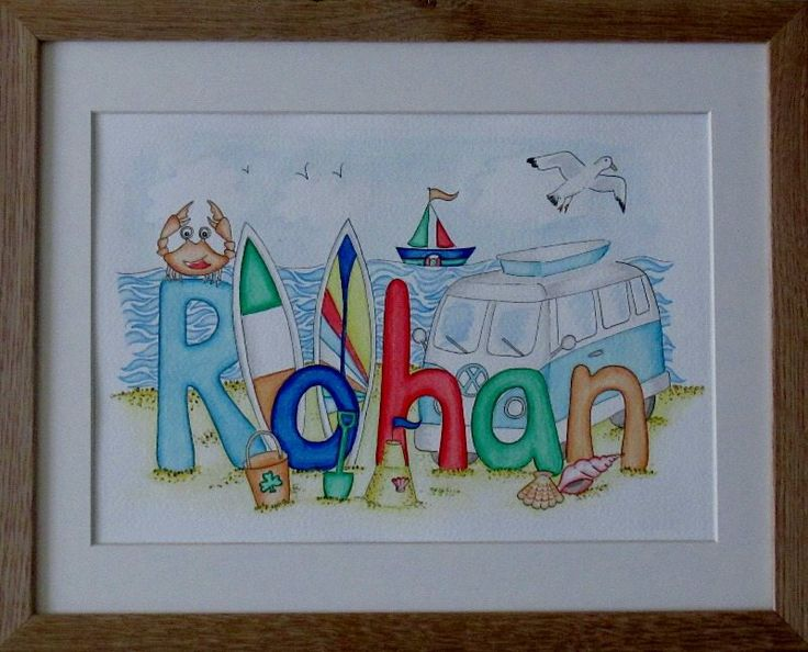 Rohan beach camper van name painting other boy designs for Rohan design