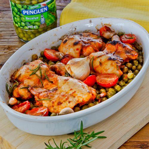Bezelyeli Fırın Tavuk http://yemektarifleri.penguen.com.tr/Anasayfa/Yemek_Tarifi/92/bezelyeli-firin-tavuk