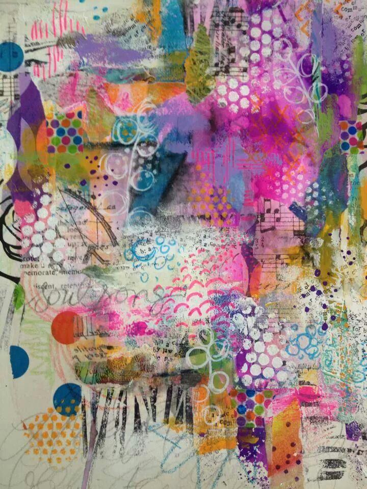 diane 39 s mixed media art finished journal page soul song art pinterest creatividad. Black Bedroom Furniture Sets. Home Design Ideas