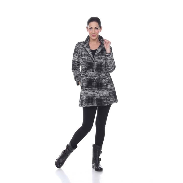 Munich Jacket in Ivory Plaid by Comfy USA