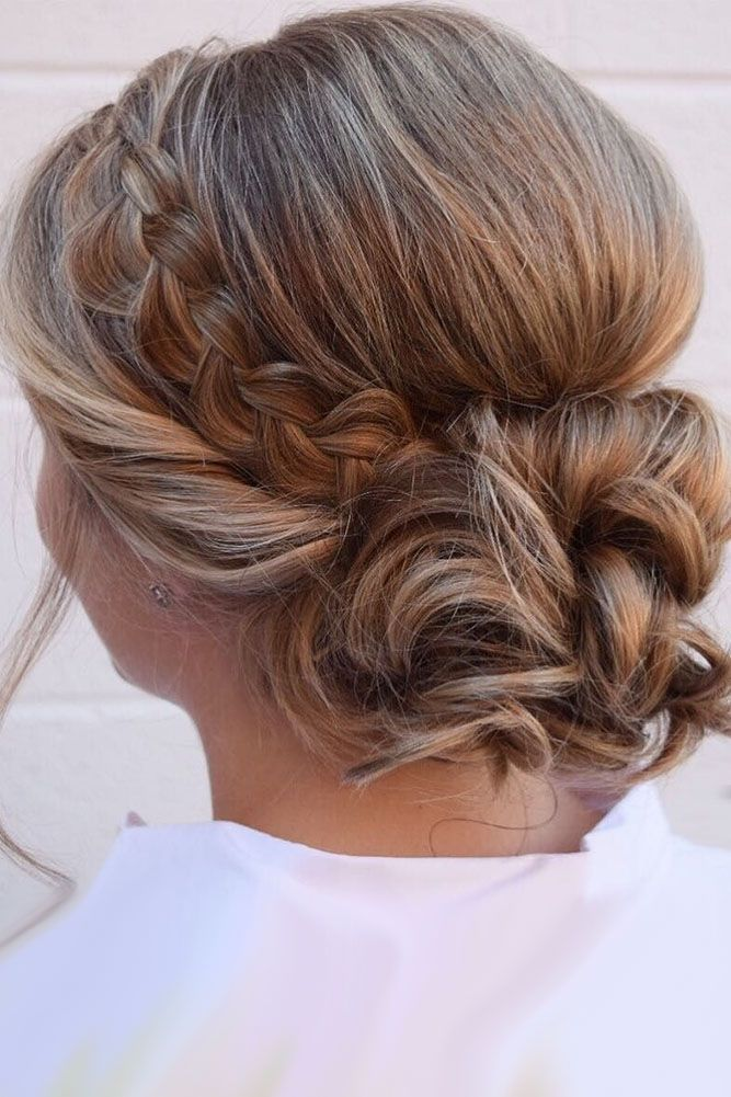 Wedding Updos For Short Hair See More Http Www Weddingforward Com Wedding Updos For Short Short Wedding Hair Braids For Short Hair Short Hair Styles Easy