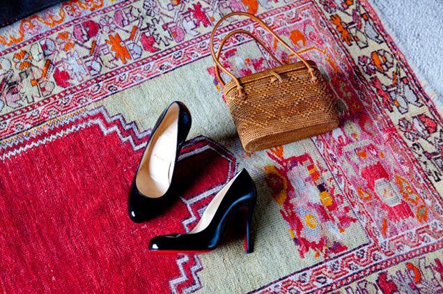 Gabriella Cortese (from Antik Batik) bedroom - Picture @Julie Ansiau