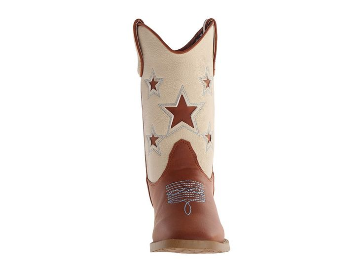 M&F Western Lone Star (Little Kid) Cowboy Boots Brown