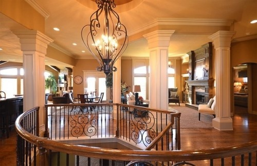 Daz D Dream Home Foyer And Living Room : Love the pillars dream house ideas pinterest entry