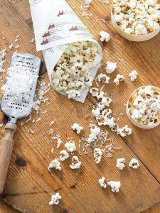 Un popcorn un peu plus sophistiqué, il impressionnera toujours car il est arrosé d'huile de truffe au goût très prononcé!