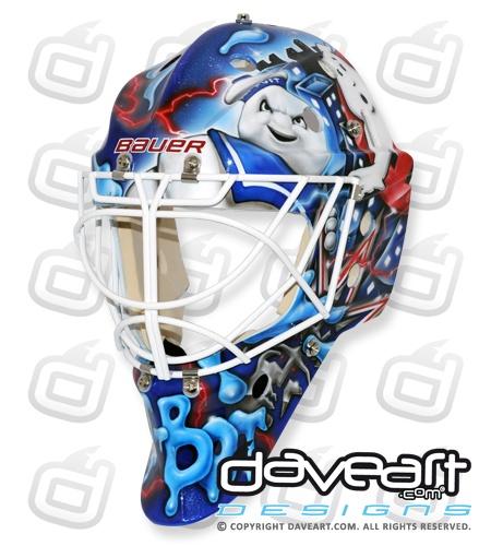 Cam Talbot Ectoplasm Rocker New York Rangers Mask
