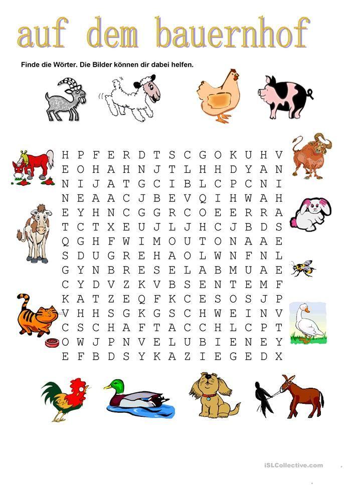 Tiere Auf dem Bauernhof Bauernhof tiere, Tiere und